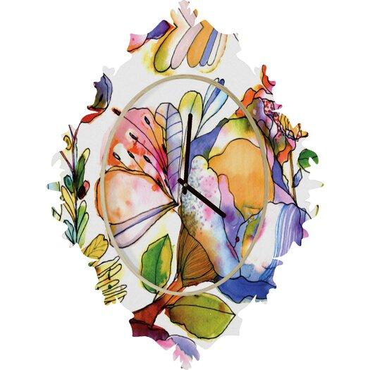 DENY Designs CayenaBlanca Pastel Wall Clock