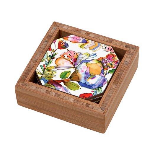 DENY Designs CayenaBlanca Blossom Pastel Coaster