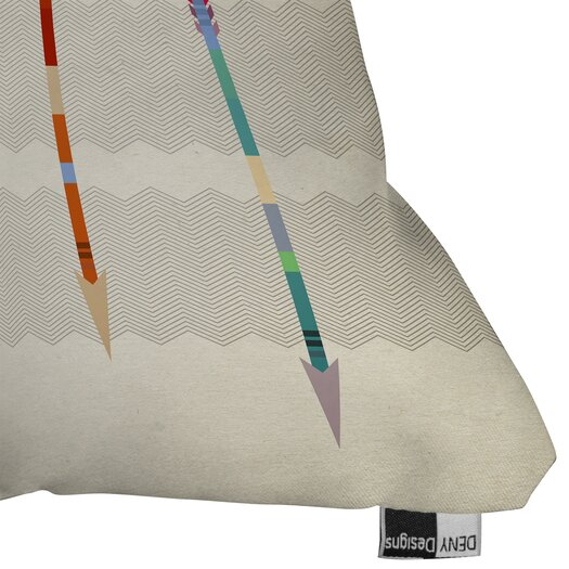 DENY Designs Iveta Abolina Feathered Arrows Throw Pillow