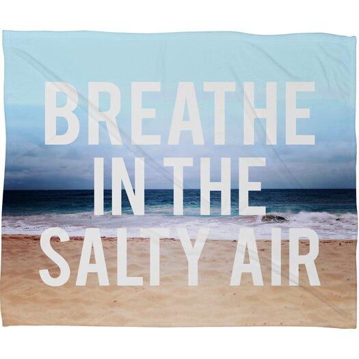 DENY Designs Leah Flores Breathe Polyesterrr Fleece Throw Blanket