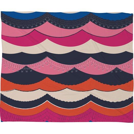 DENY Designs Vy La Unwavering Love Polyesterr Fleece Throw Blanket