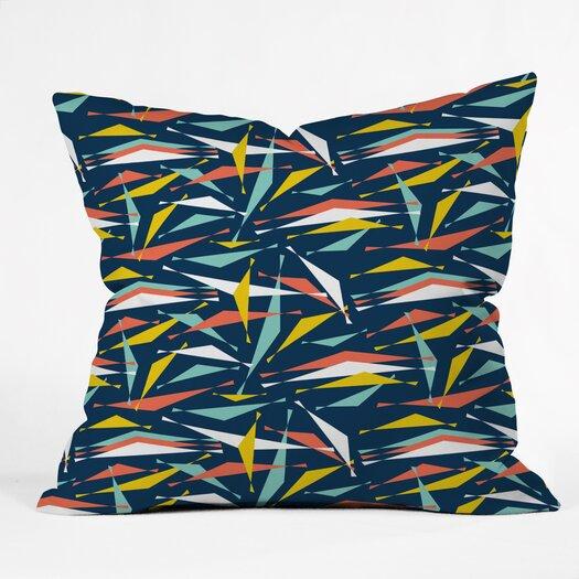 DENY Designs Heather Dutton Swizzlestick Party Girl Throw Pillow