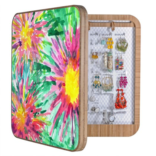 DENY Designs Joy Laforme Floral Confetti Jewelry Box