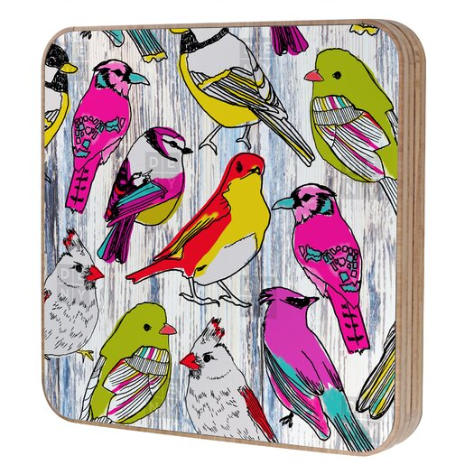 DENY Designs Mary Beth Freet Couture Home Birds Jewelry Box Replacement Cover