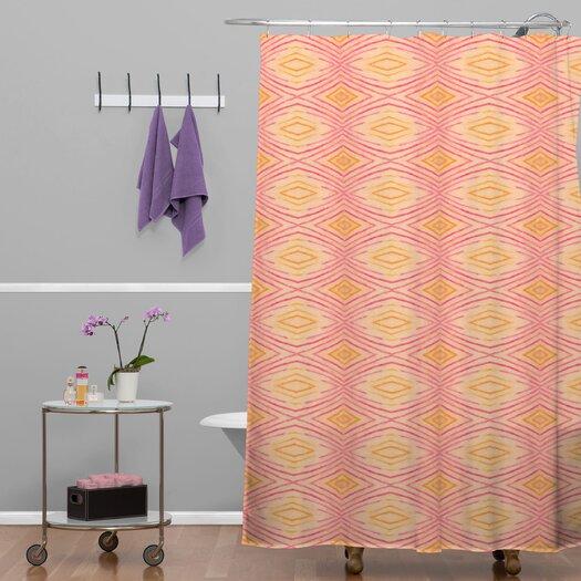 DENY Designs Cori Dantini Ikat 4 Polyester Shower Curtain