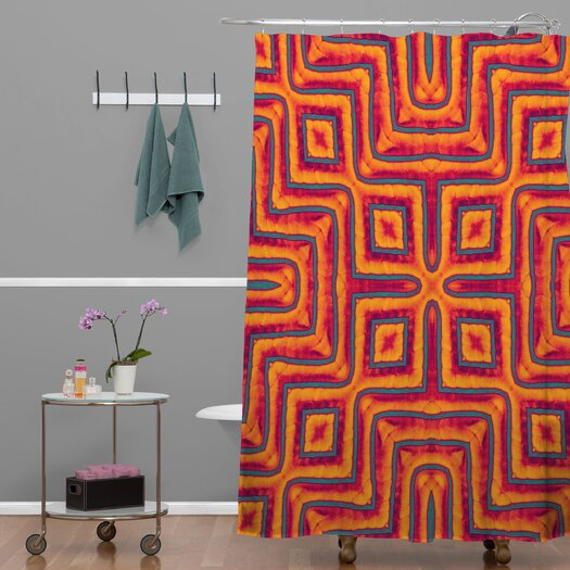 DENY Designs Wagner Campelo Polyester Sanchezia X Shower Curtain