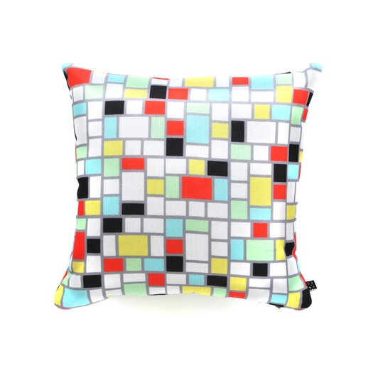 DENY Designs Jacqueline Maldonado Geo Square Polyester Throw Pillow