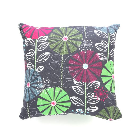 DENY Designs Khristian A Howell Cape Town Blooms Woven Polyester Throw Pillow