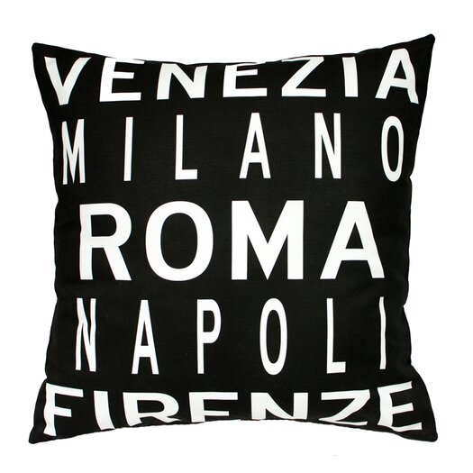 Uptown Artworks Roma Italy Pillow