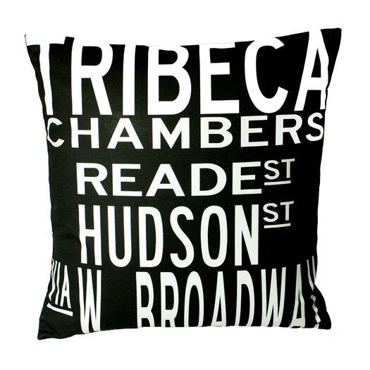 Uptown Artworks Tribeca Pillow