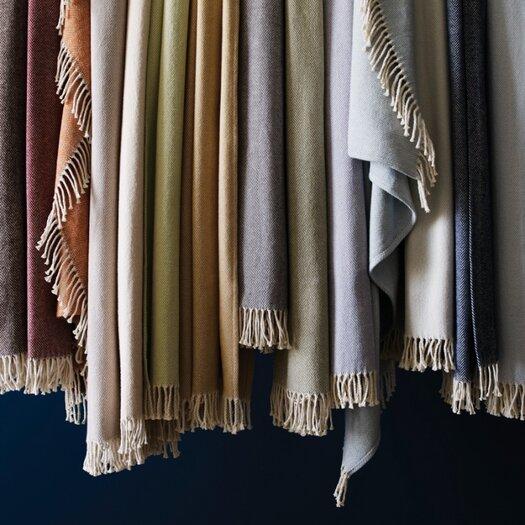 SFERRA Celine Brushed Throw Blanket