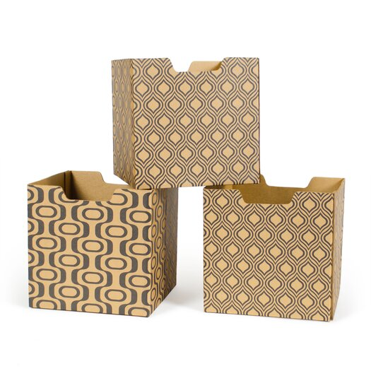 Leaf Pattern Decorative Storage Box