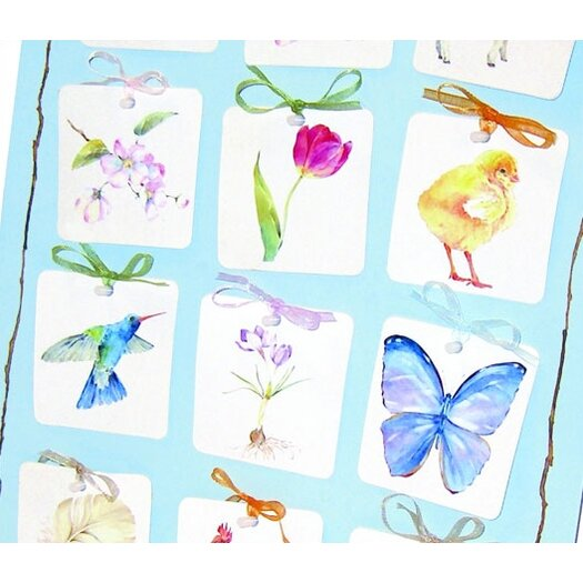 Challenge & Fun TJ Whitneys Spring Gift Tags