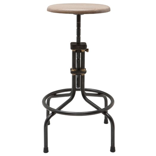 District Eight Design V19C Adjustable Height Bar Stool