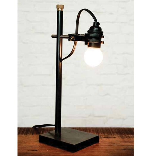 "District Eight Design Articulated 12.75"" H Table Lamp"