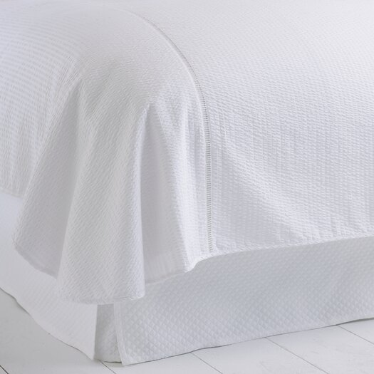 Peacock Alley Biscayne Cotton Blanket Cover