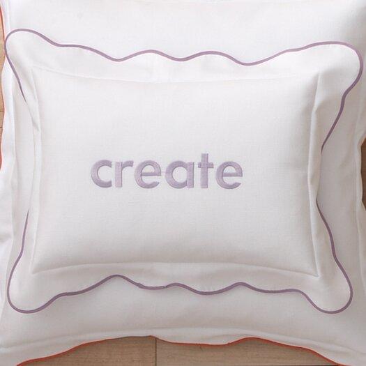 Peacock Alley Pique Scalloped Cotton Boudoir Pillow