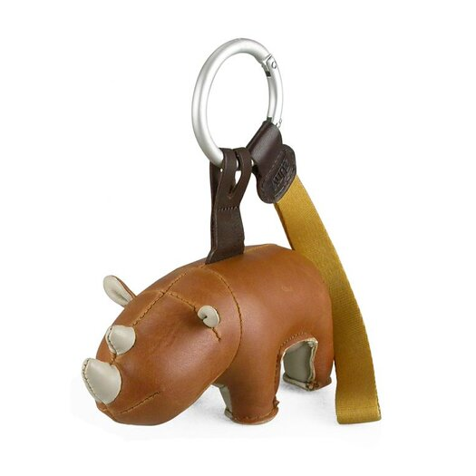 Zuny Hino the Rhino Key Ring