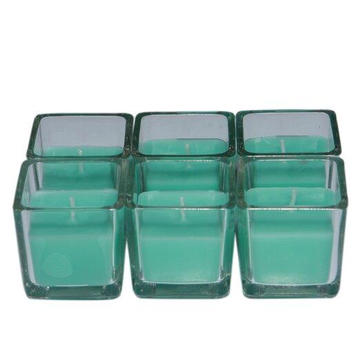 Zest Candle Square Glass Votive Candle