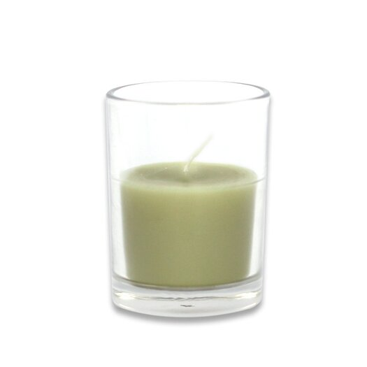Zest Candle Round Glass Votive Candle