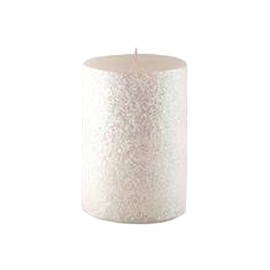 Zest Candle Glitter Pillar Candle