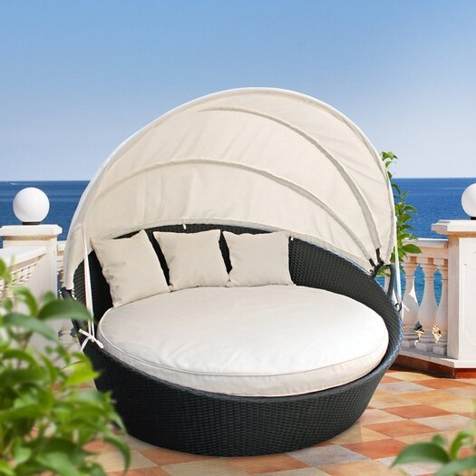 Modway Snooze Canopy Outdoor Patio Daybed
