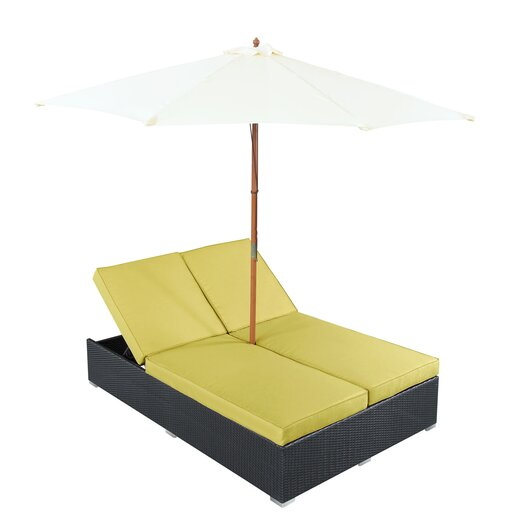 Modway Arrival Chaise Lounge with Cushion