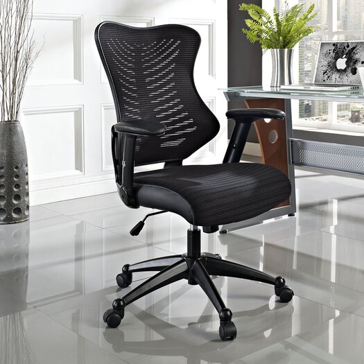 Modway Clutch Mid-Back Mesh Office Chair