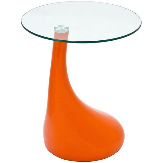 Modway Teardrop End Table