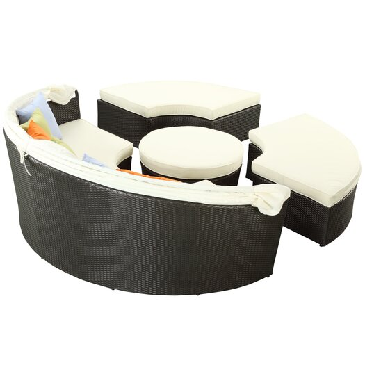 Modway Quest Canopy Daybed with Cushions