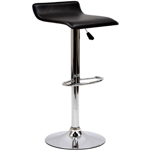 Modway Gloria Adjustable Height Swivel Bar Stool