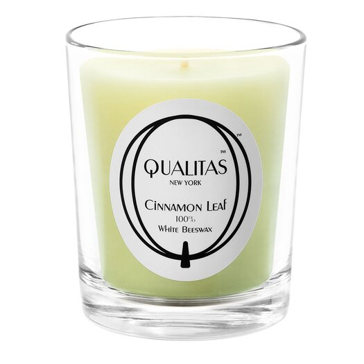 Qualitas Candles Beeswax Cinnamon Leaf Scented Candle