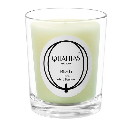 Qualitas Candles Beeswax Birch Scented Candle