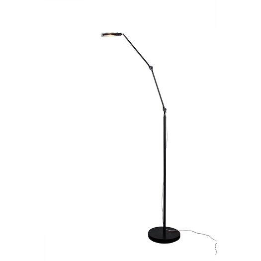 Alternating Current Assist 1 Light LED Square Floor Lamp