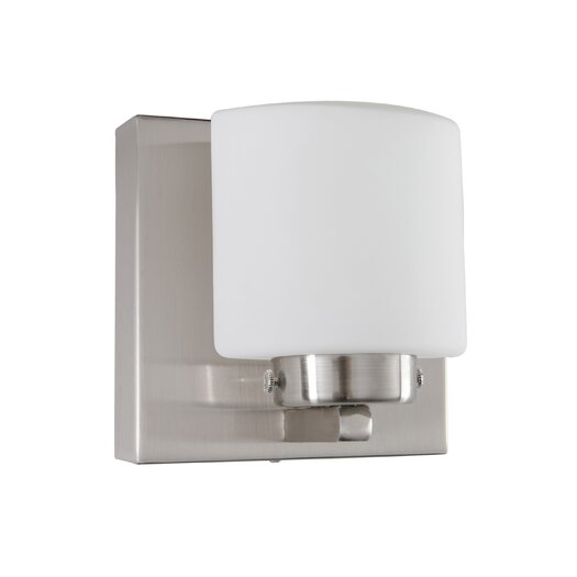 Alternating Current Clean 1 Light LED Vanity Light