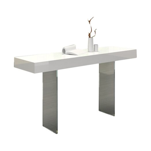 Casabianca Furniture Il Vetro Console Table