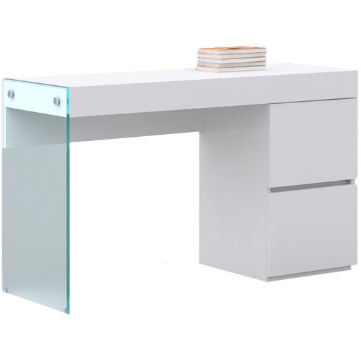 Casabianca Furniture Il Vetro Vanity Desk