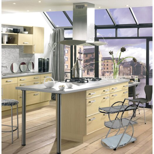 Casabianca Furniture Siena Kitchen Cart