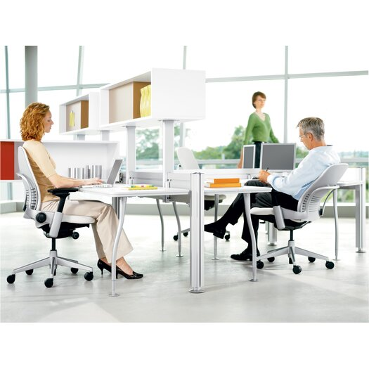 Steelcase Leap® 3D-Mesh/Fabric Office Chair
