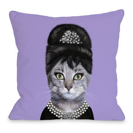 One Bella Casa Pets Rock Breakfast Pillow