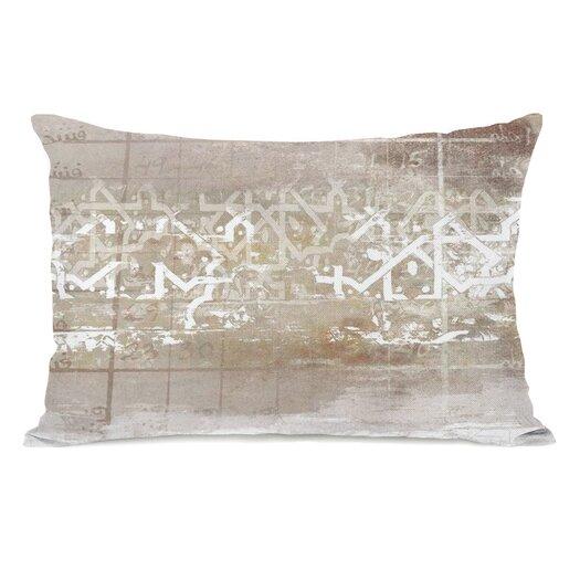 One Bella Casa Numerica Pillow