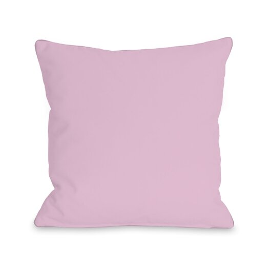 One Bella Casa Solid Pillow