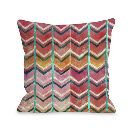 One Bella Casa Textured Ombre Pillow
