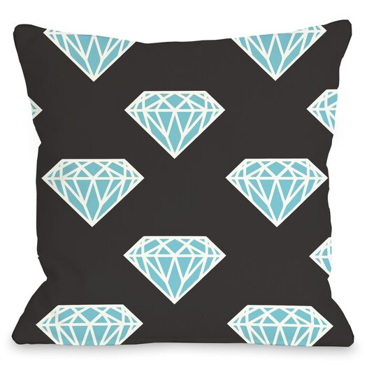 One Bella Casa All Over Diamond Pillow