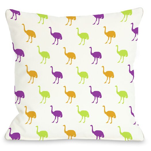 One Bella Casa All Over Ostrich Pillow
