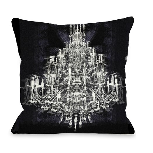 One Bella Casa Oliver Gal Montecarlo Crystal Throw Pillow