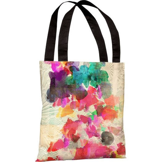 One Bella Casa Oliver Gal Inside Her Eyes Tote Bag