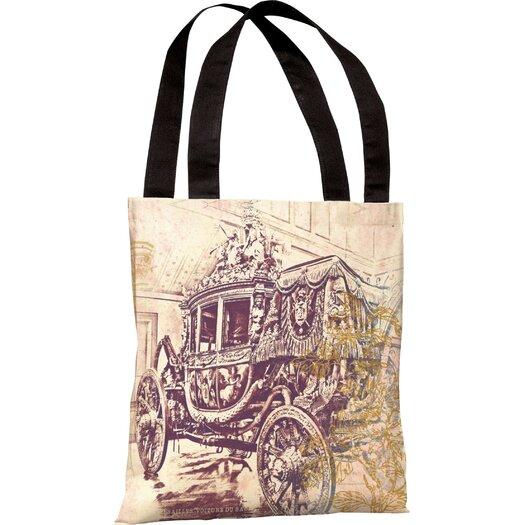 One Bella Casa Oliver Gal Charles X Tote Bag