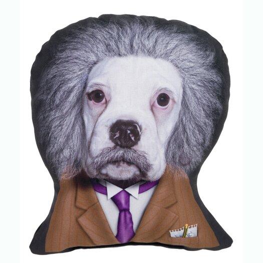 One Bella Casa Pets Rock Brain Shaped Pillow