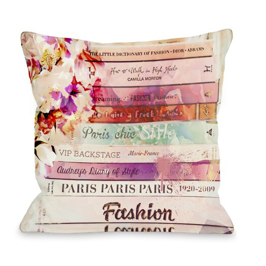 One Bella Casa Oliver Gal Romantica Pillow